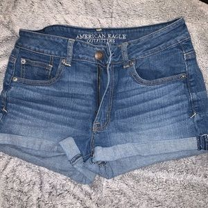 High Waisted American Eagle Stretch Shorts
